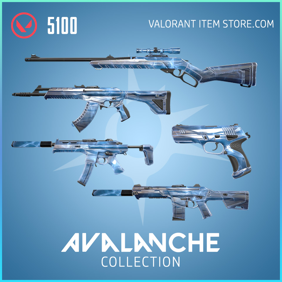 Avalanche Collection in Valorant Store
