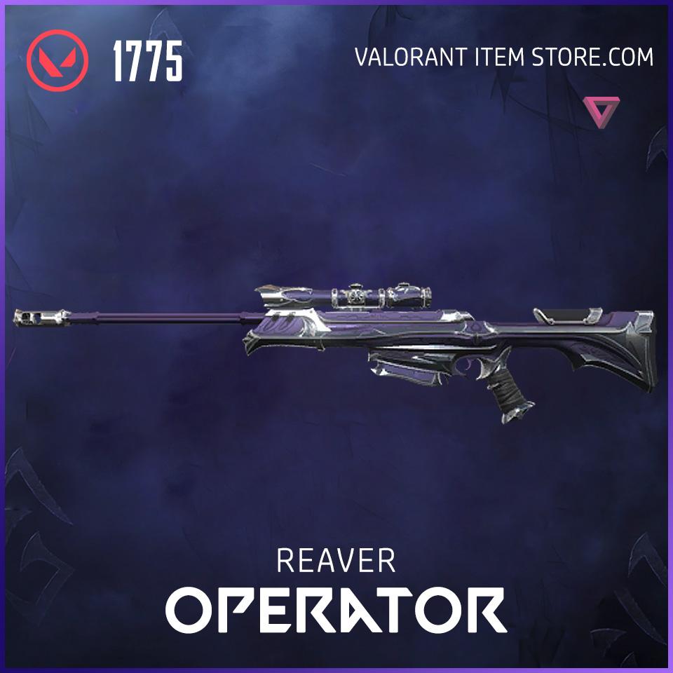 Reaver Operator Valorant Skin