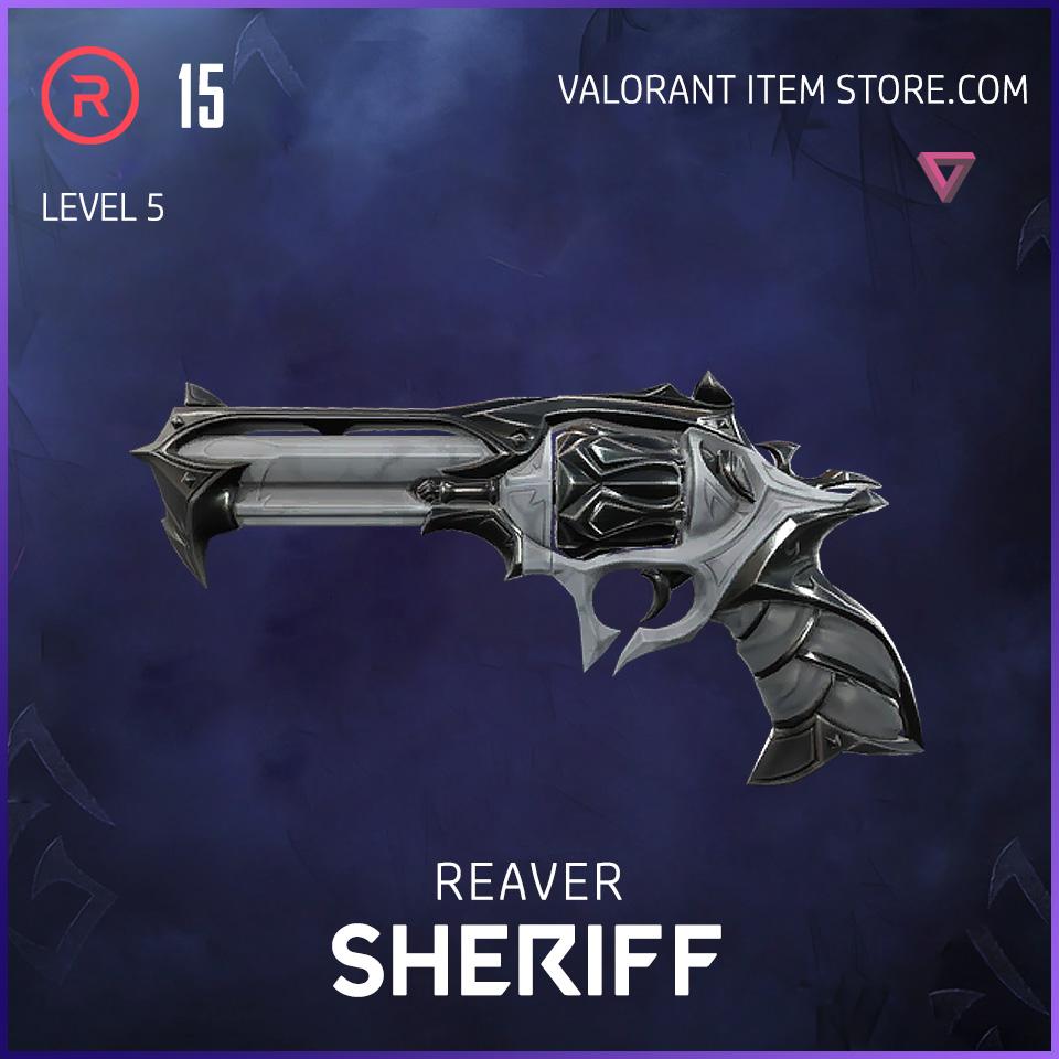 Reaver Sheriff Level 5 Valorant Skin