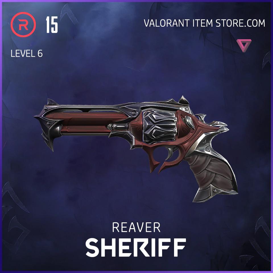 Reaver Sheriff Level 6 Valorant Skin