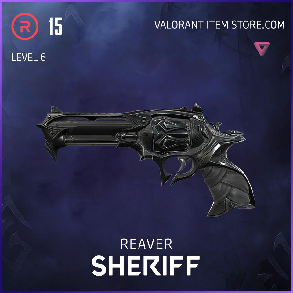 Reaver Sheriff Level 7 Valorant Skin