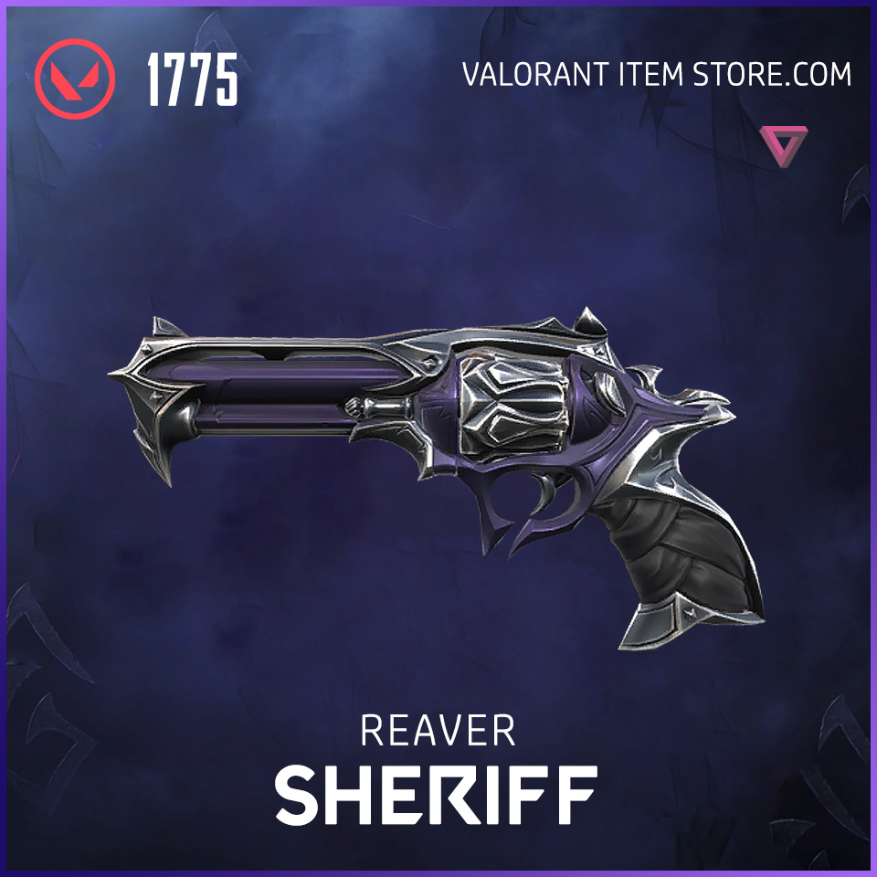 Reaver Sheriff Valorant Skin collection