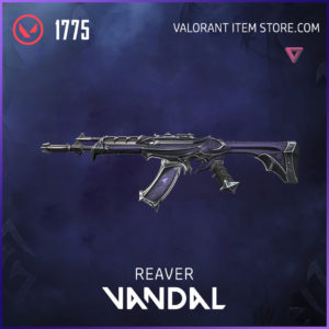 Reaver Vandal Valorant Skin