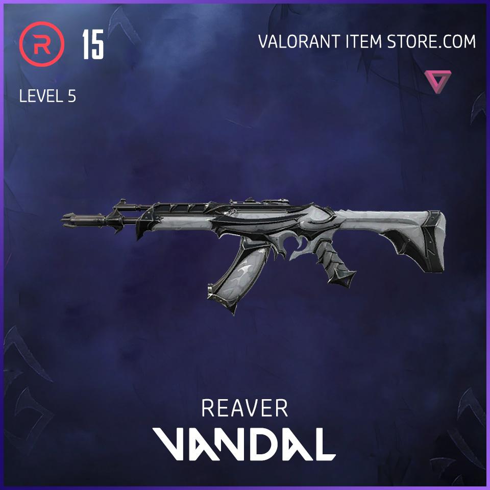 Reaver Vandal Level 5 Valorant Skin