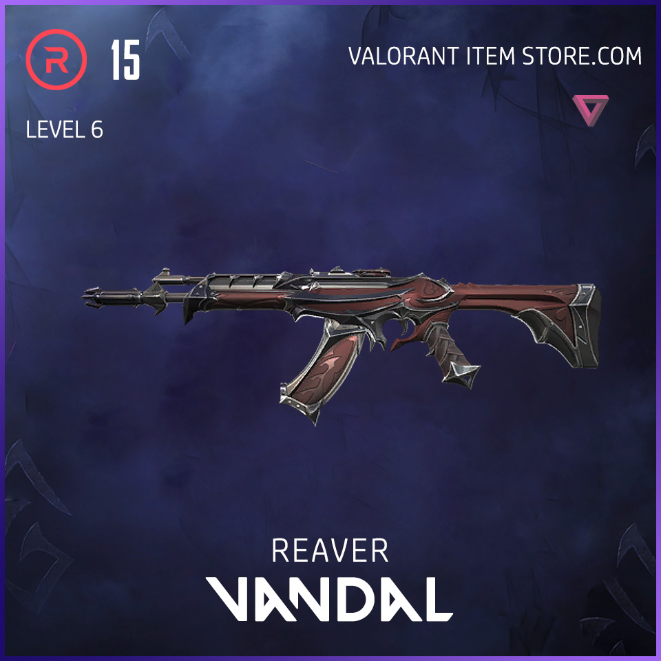 Reaver Vandal Level 6 Valorant Skin