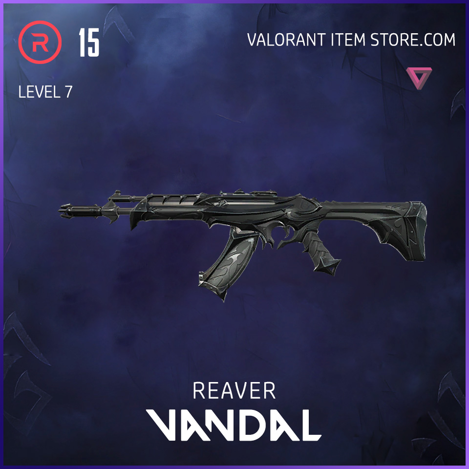 Reaver Vandal Level 7 Valorant Skin