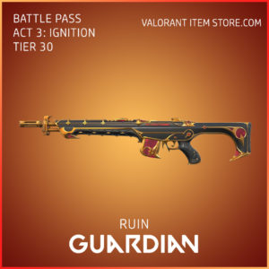 Ruin Guardian Act 3 Ignition Tier 30 Valorant Skin