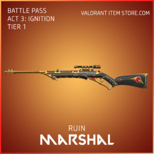 Ruin Marshal Act 3 Ignition Tier 1 Valorant Skin