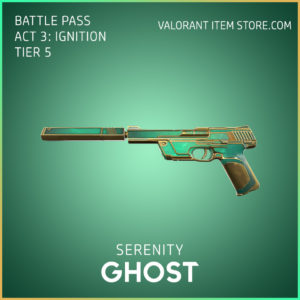 Serenity Ghost Act 3 Ignition Tier 5 Valorant Skin