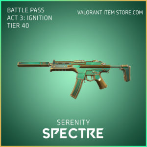 Serenity Spectre Act 3 Ignition Tier 40 Valorant Skin