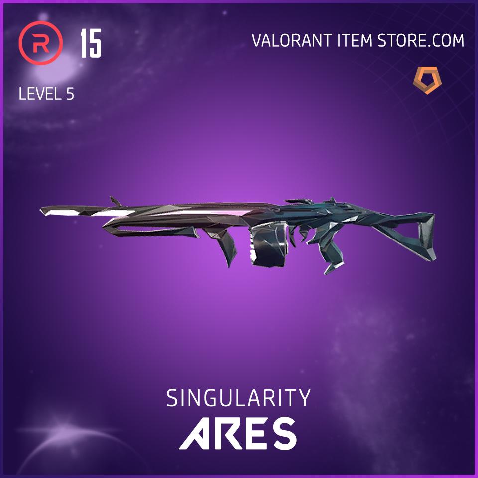 Singularity Ares Level 5 Valorant Skin