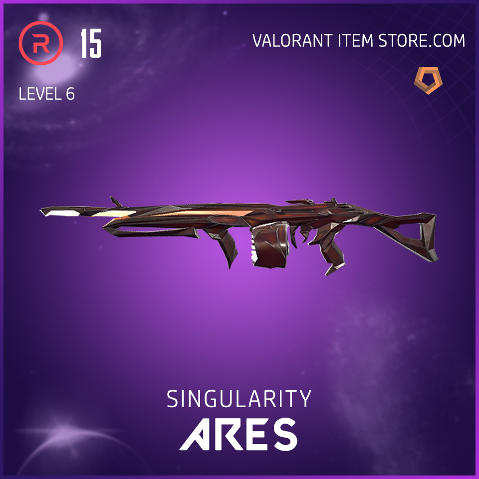 Singularity Ares Level 6 Valorant Skin