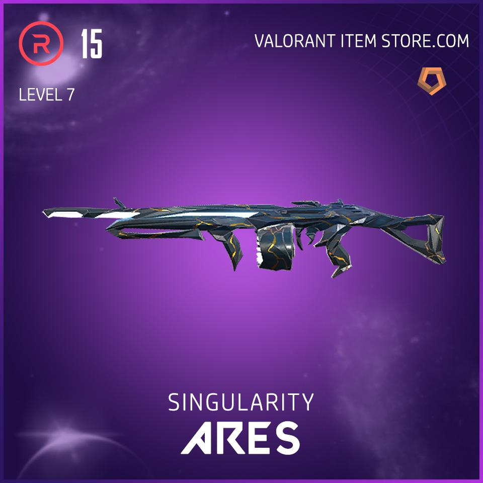 Singularity Ares Level 7 Valorant Skin