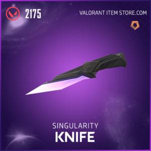 Singularity Knife Valorant Skin