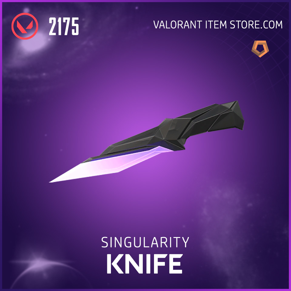 Singularity Knife Valorant Skin