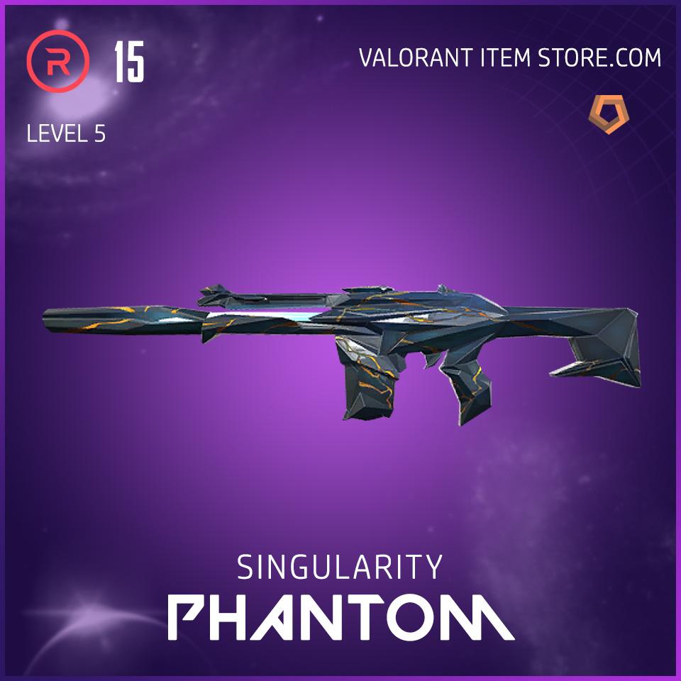 Singularity Phantom Level 5 Valorant Skin