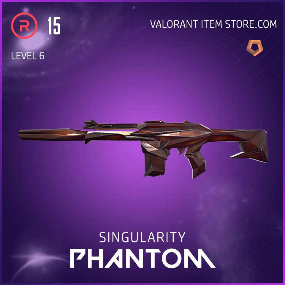 Singularity Phantom Level 6 Valorant Skin