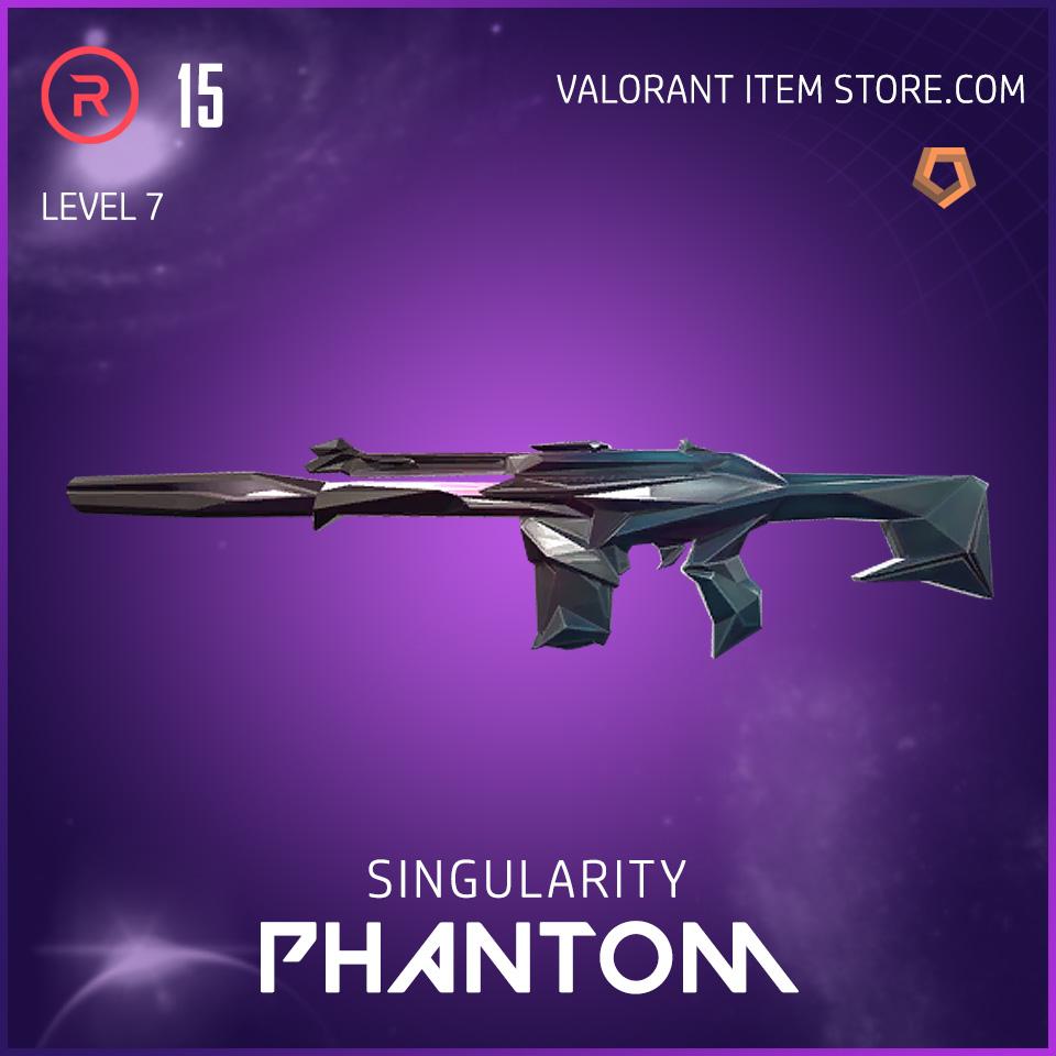 Singularity Phantom Level 7 Valorant Skin