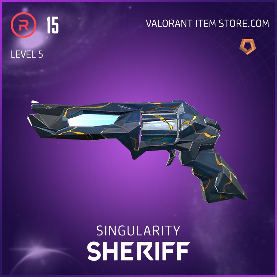Singularity Sheriff Level 5 Valorant Skin