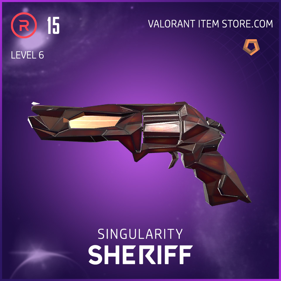 Singularity Sheriff Level 6 Valorant Skin