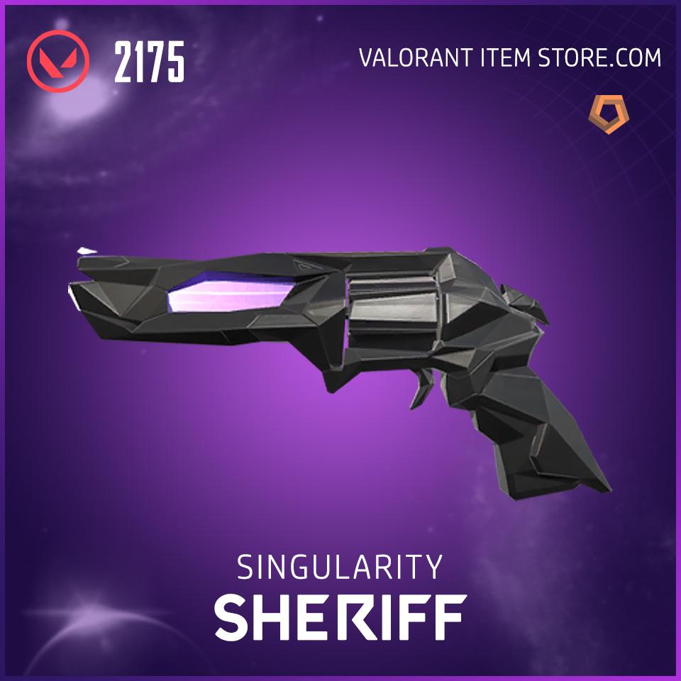 Singularity Sheriff Valorant Skin