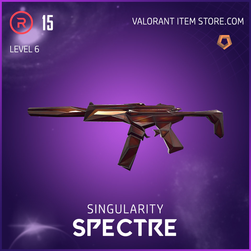 Singularity Spectre Level 6 Valorant Skin