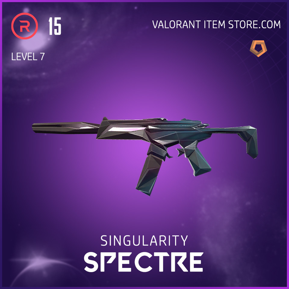 Singularity Spectre Level 7 Valorant Skin