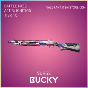 Surge Bucky Act 3 Ignition Tier 10 Valorant Skin