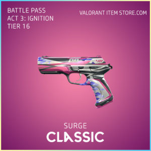 Surge Classic Act 3 Ignition Tier 16 Valorant Skin