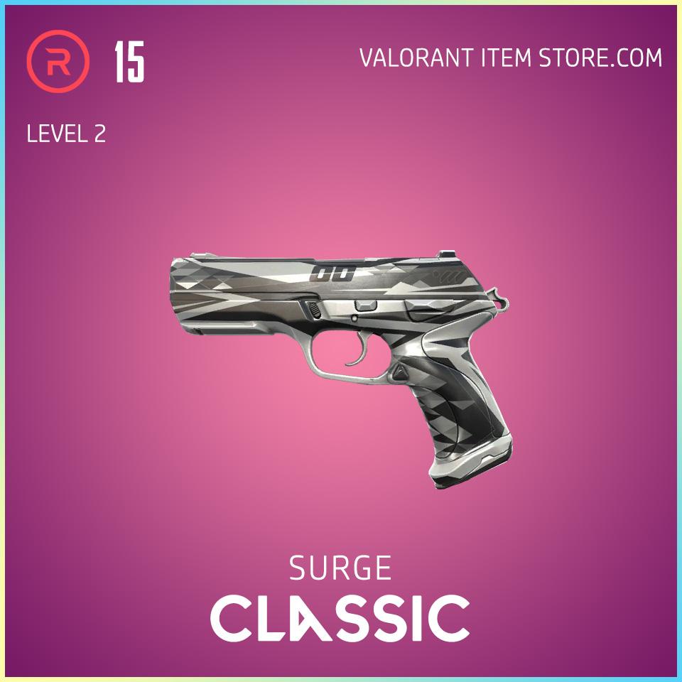 Surge Classic level 2 Valorant Skin