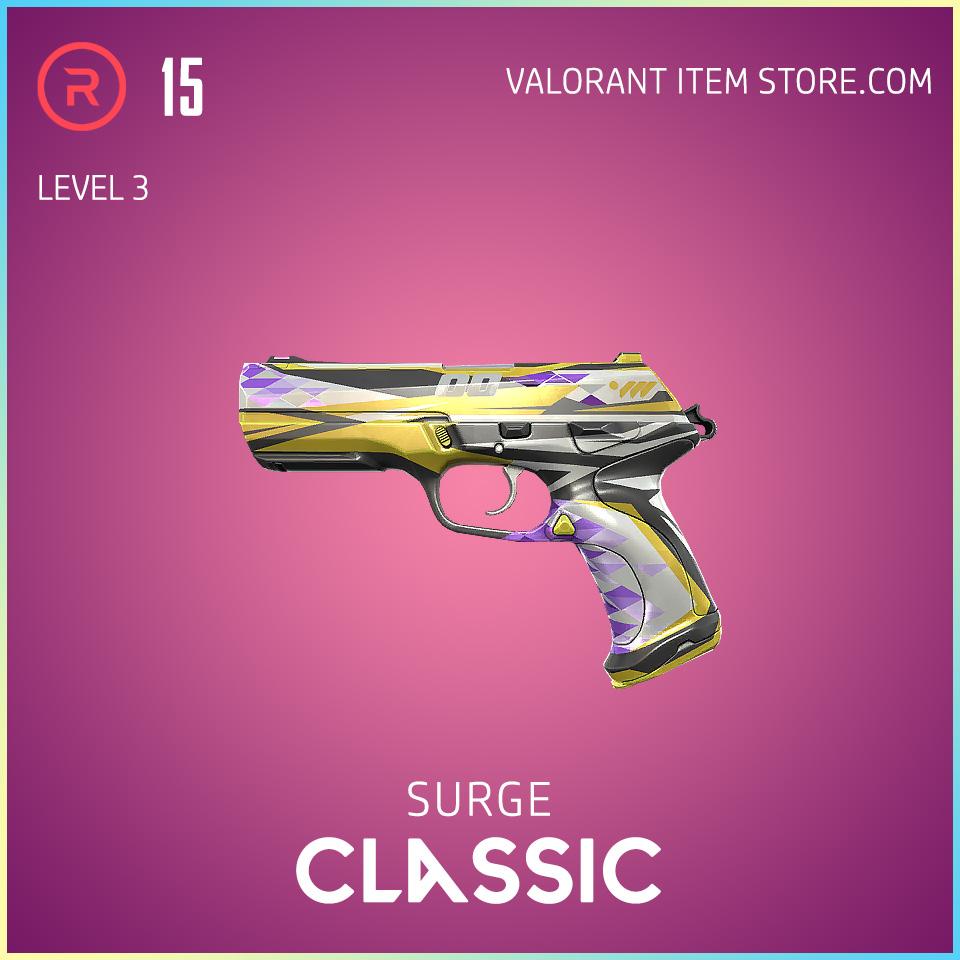 Surge Classic level 3 Valorant Skin