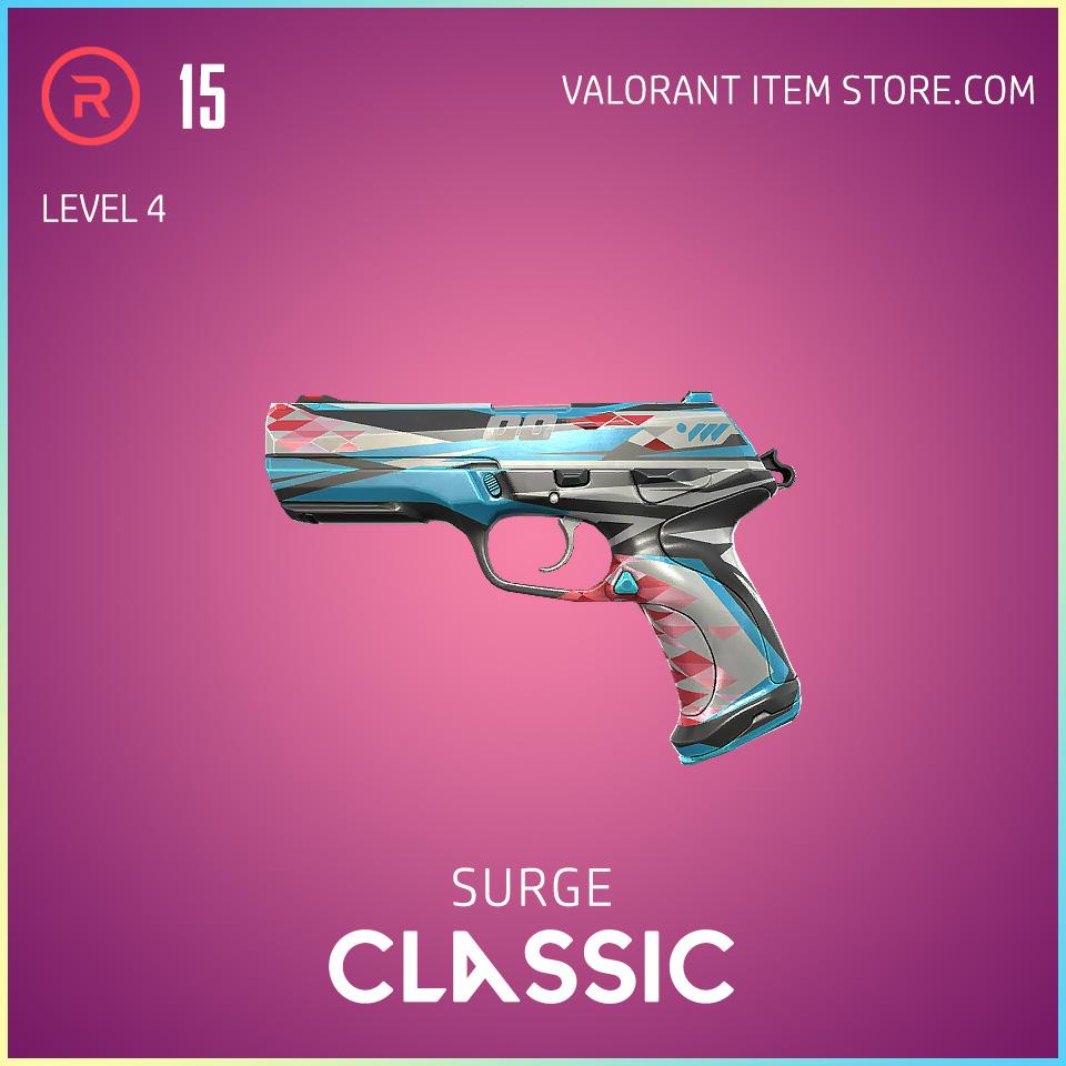 Surge Classic level 4 Valorant Skin