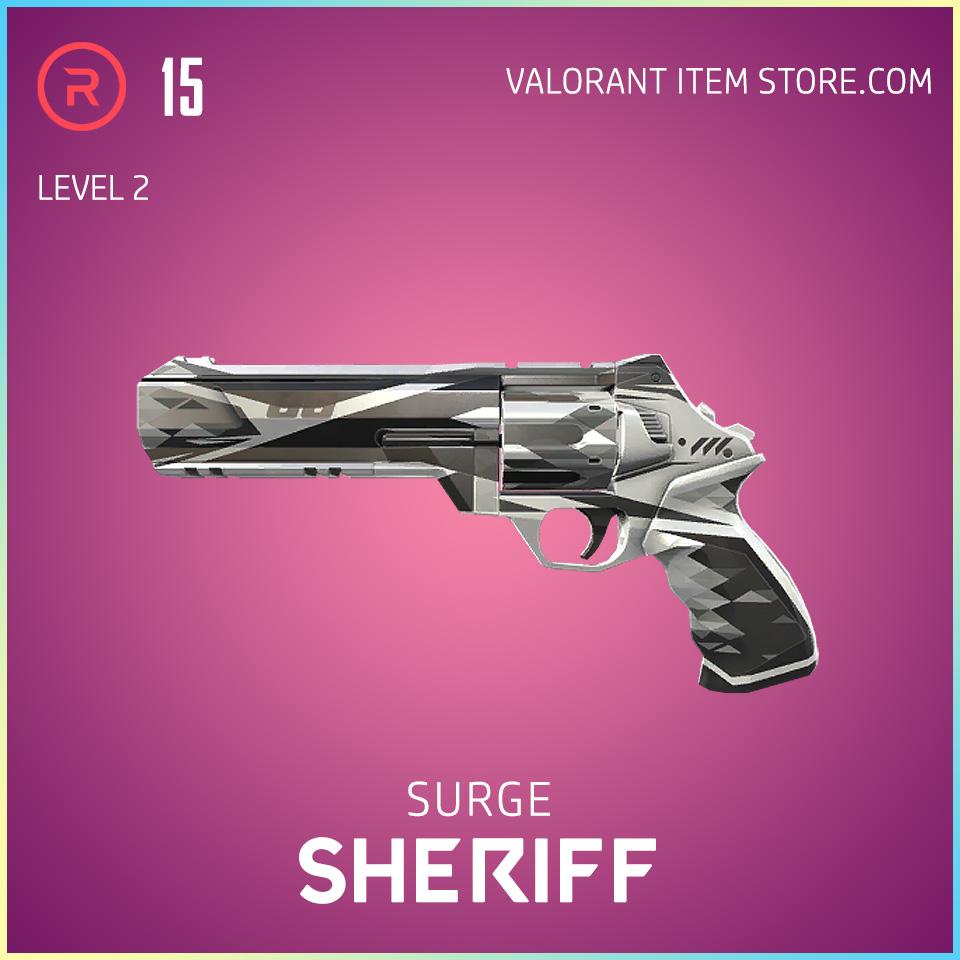 Surge Sheriff Level 2 Valorant Skin