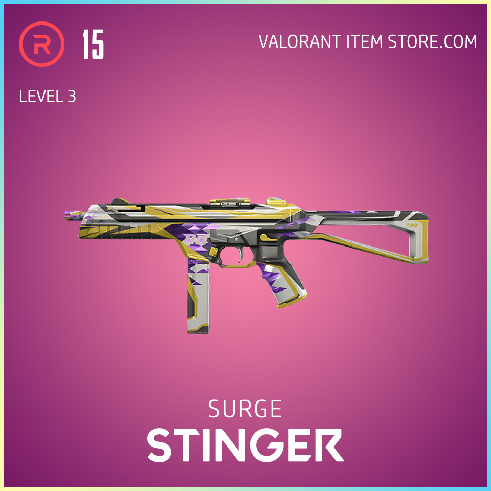 Surge Stinger Level 3 Valorant Skin