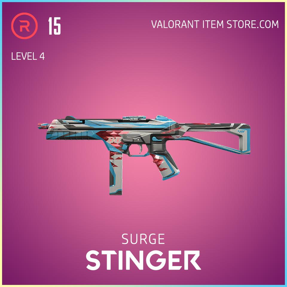 Surge Stinger Level 4 Valorant Skin