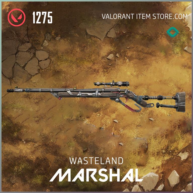 Wasteland Marshal Valorant Skin