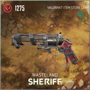 Wasteland SHeriff Valorant Skin