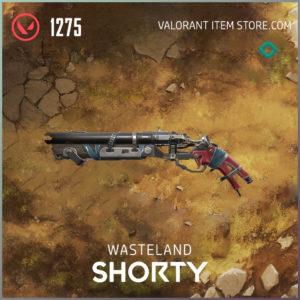 Wasteland Shorty Valorant Skin
