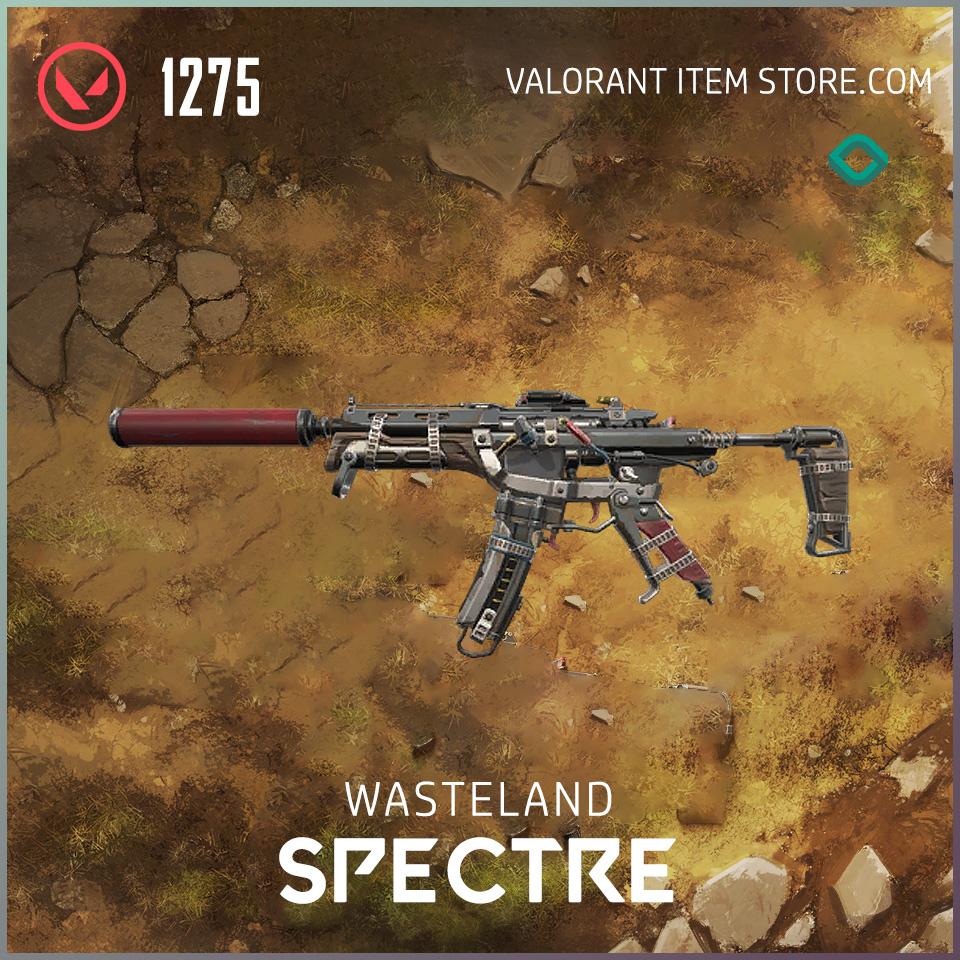Wasteland Spectre Valorant Skin