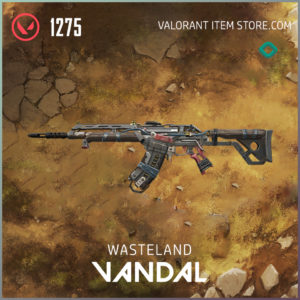 Wasteland Vandal Valorant Skin