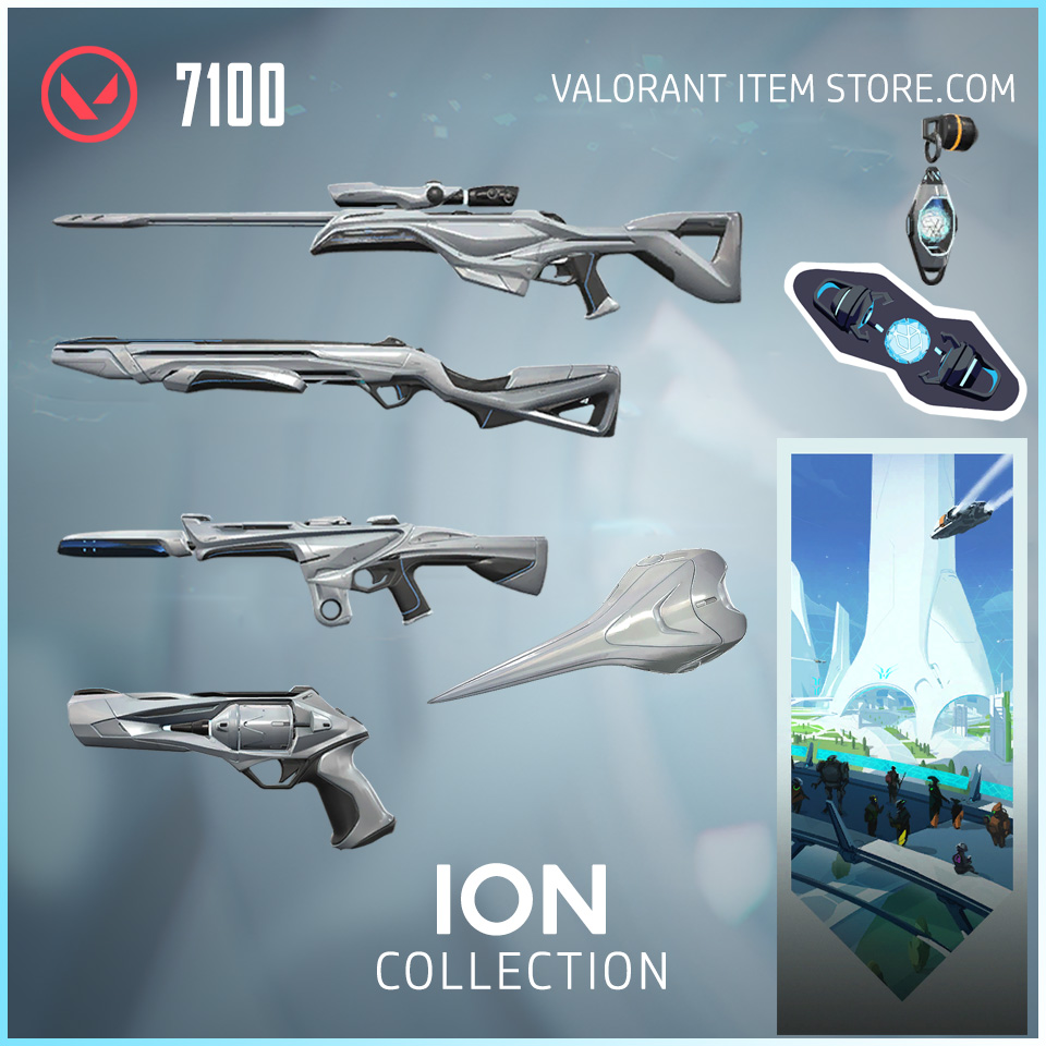 Ion Collection in Valorant Store