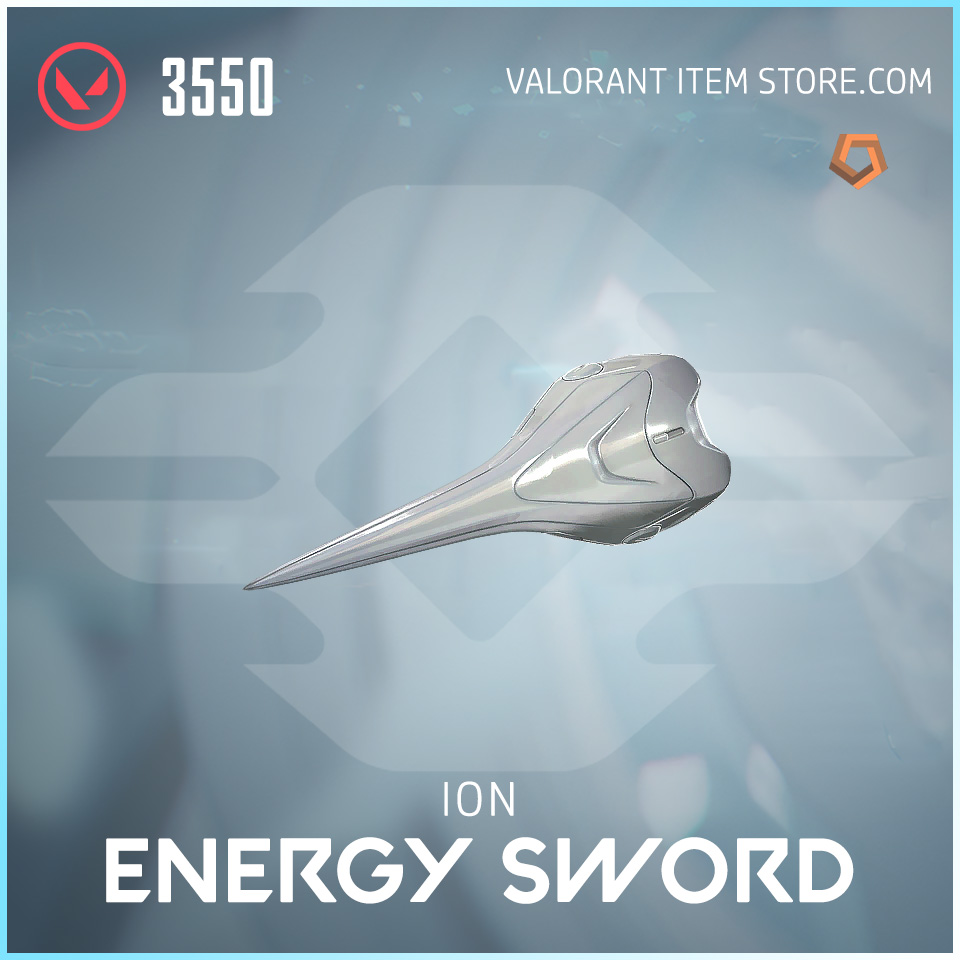 Ion Energy Sword Valorant Skin