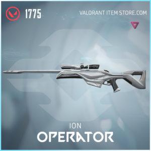 Ion Operator Valorant Skin