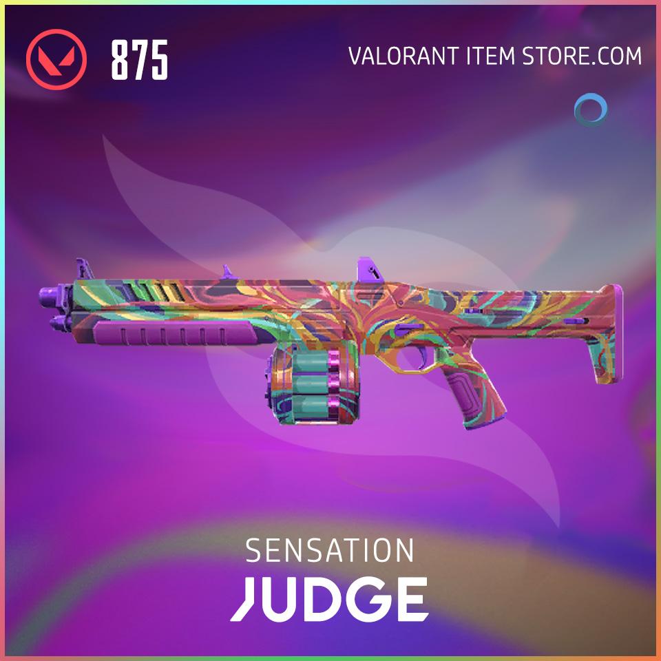 Sensation Judge Valorant Skin