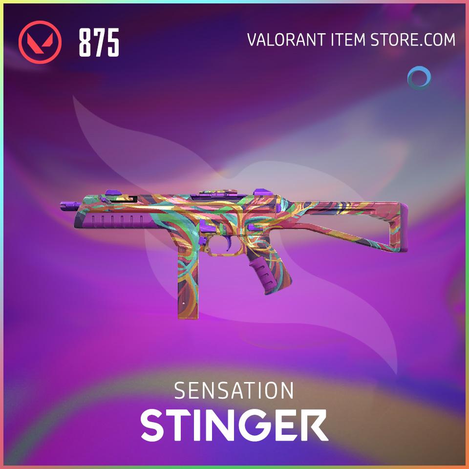 Sensation Stinger Valorant Skin