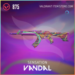 Sensation Vandal Valorant Skin