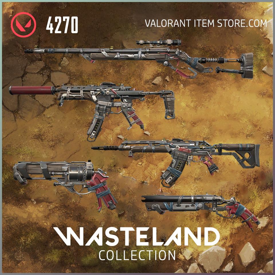 Wasteland Bundle Collection Valorant