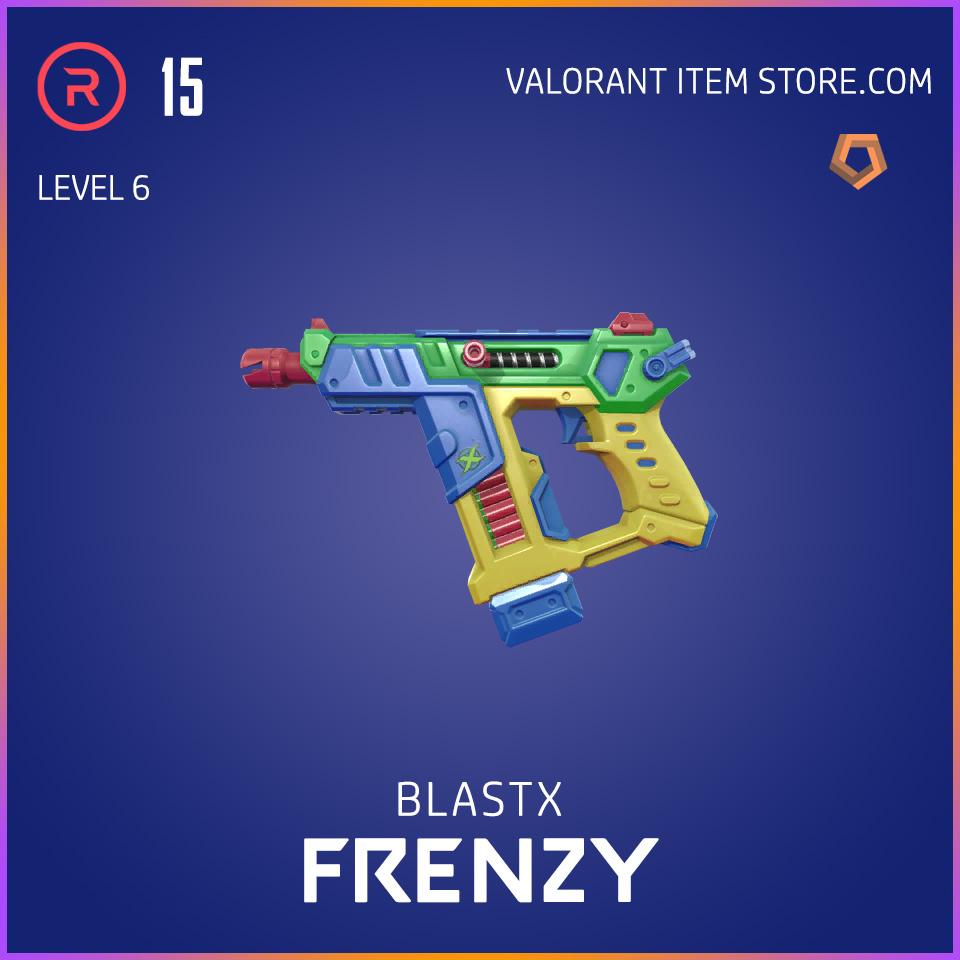 BlastX Frenzy Level 6 Valorant Skin