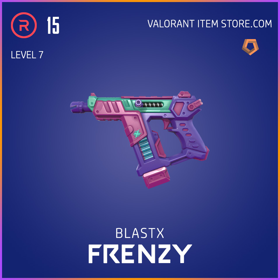 BlastX Frenzy Level 7 Valorant Skin