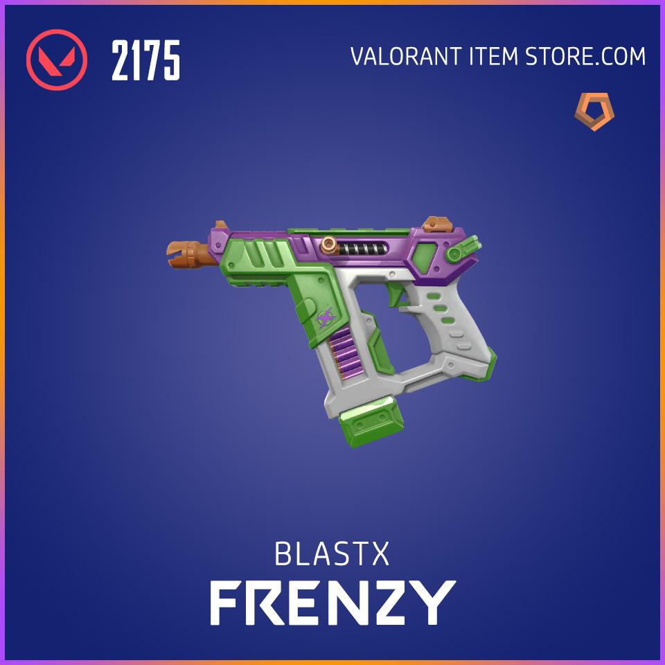 BlastX Frenzy Valorant Skin